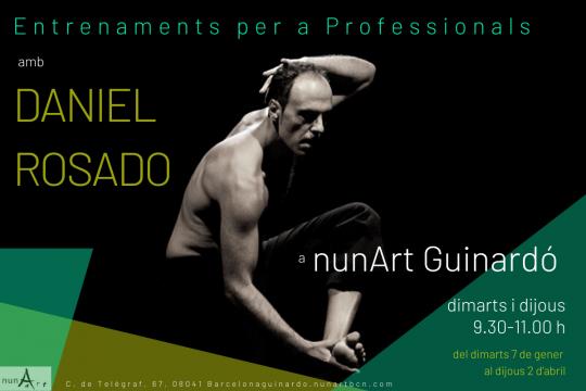 Entrenaments per a Professionals amb DANIEL ROSADO