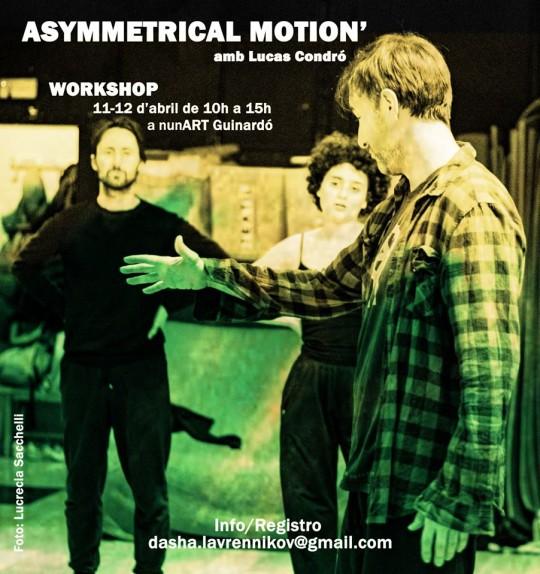 Workshop de Asymmetrical-Motion amb Lucas Condró
