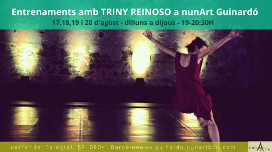 Entrenaments amb Triny Reinoso
