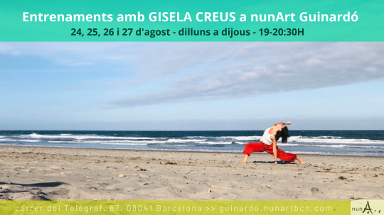 Entrenaments amb Gisela Creus