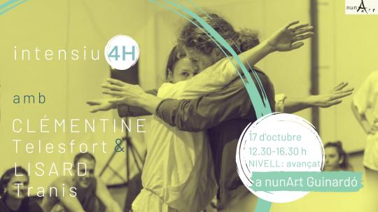 Intensiu amb Clémentine Telesfort i Lisard Tranis // 4H Nº7