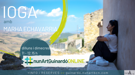 Ioga ONLINE amb Marha Echavarria