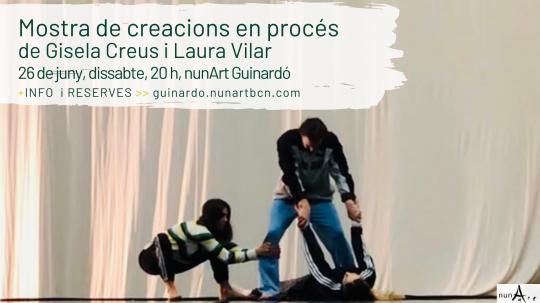 Mostra de creacions en procés de Gisela Creus i Laura Vilar
