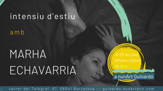 Intensiu d'estiu amb Marha Echavarria